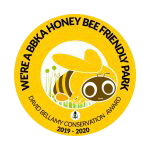 We're a BBKA Honey Bee Friendly Park