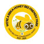 We're a BBKA Honey Bee Friendly Park